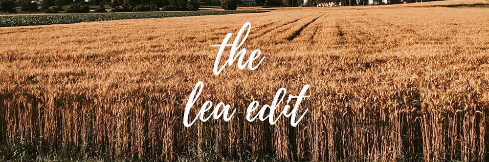 new blog the lea edit