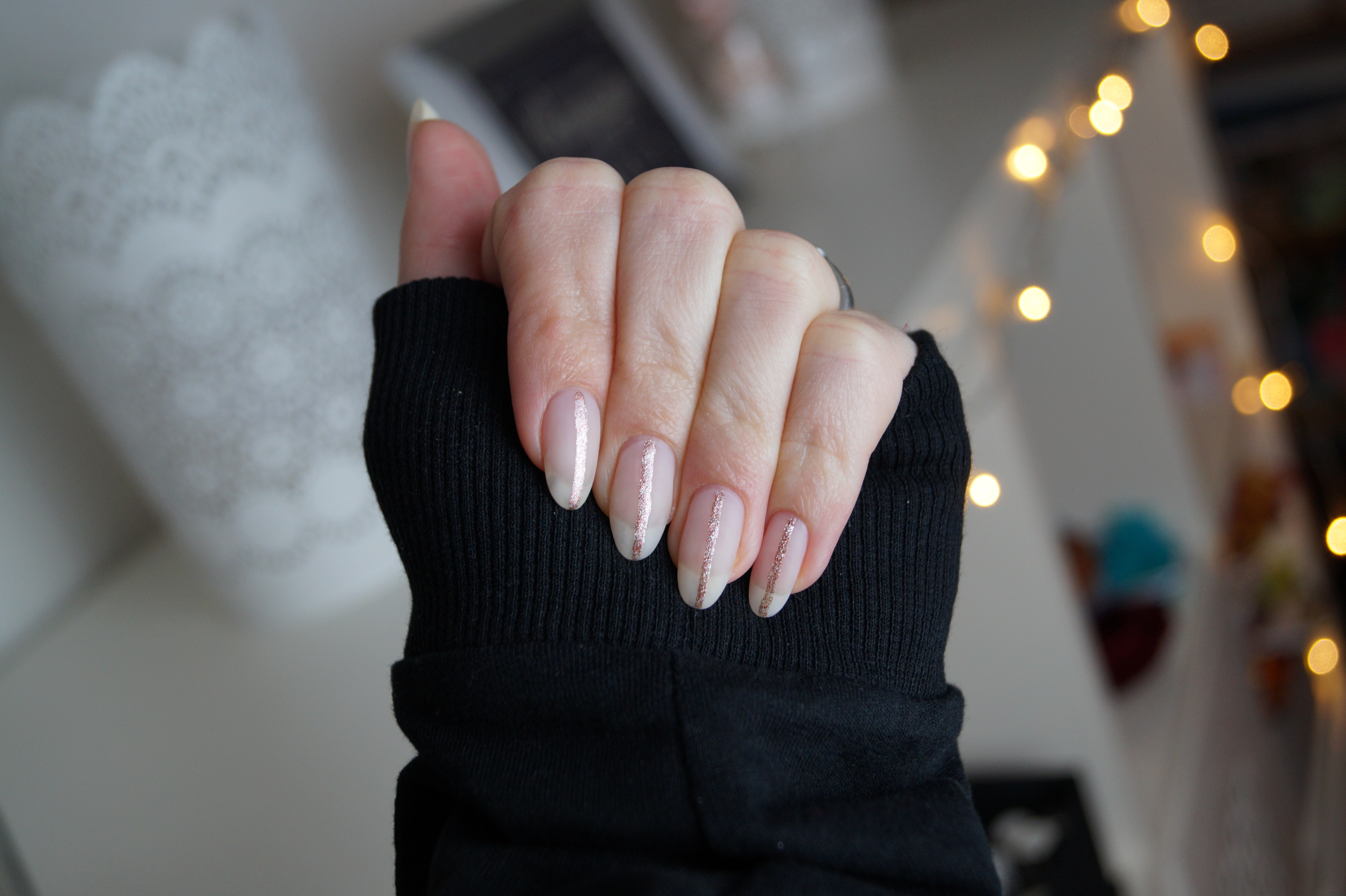 There's always a silver lining #Nailart