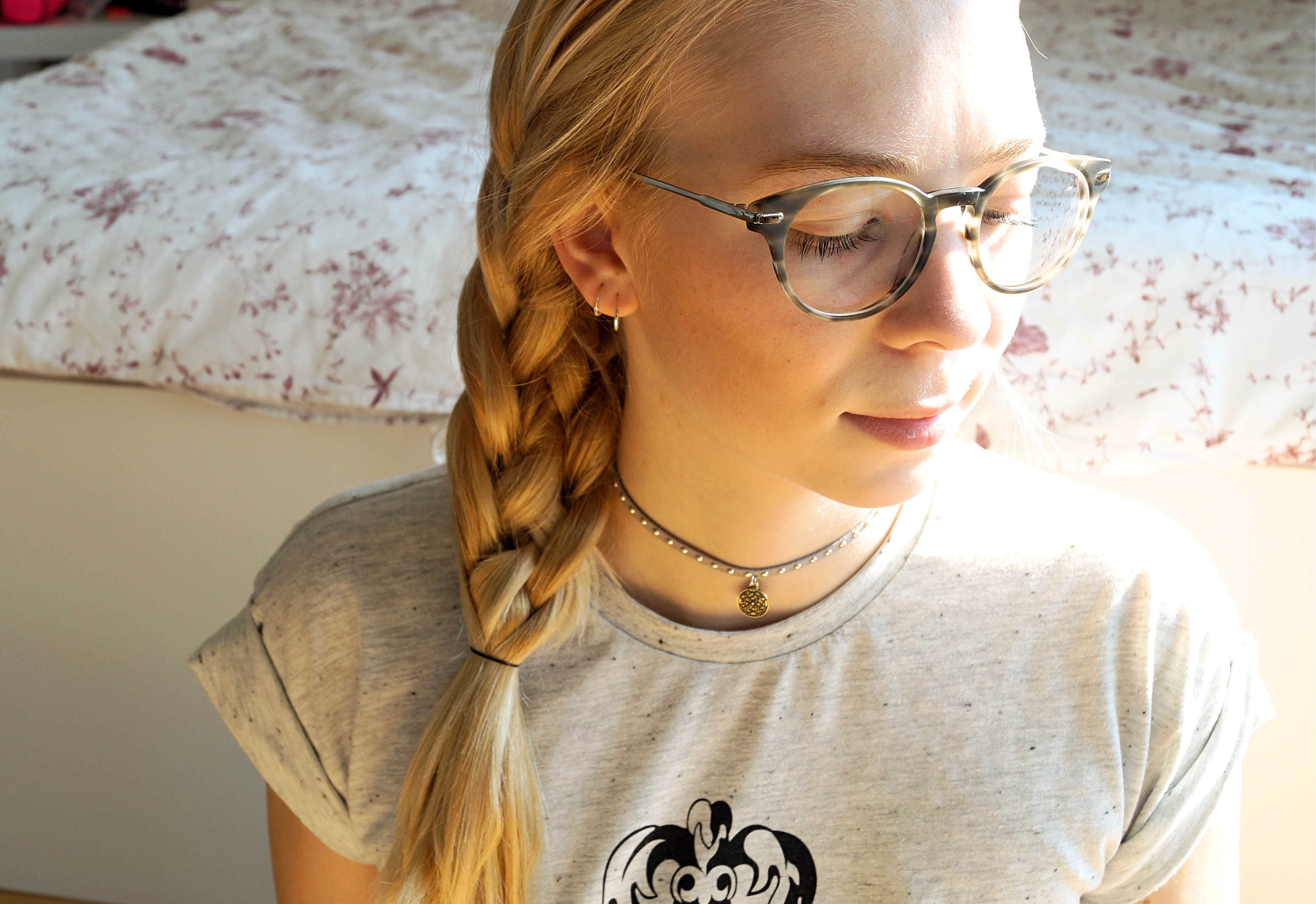 Four Strand Braid #hairtutorial
