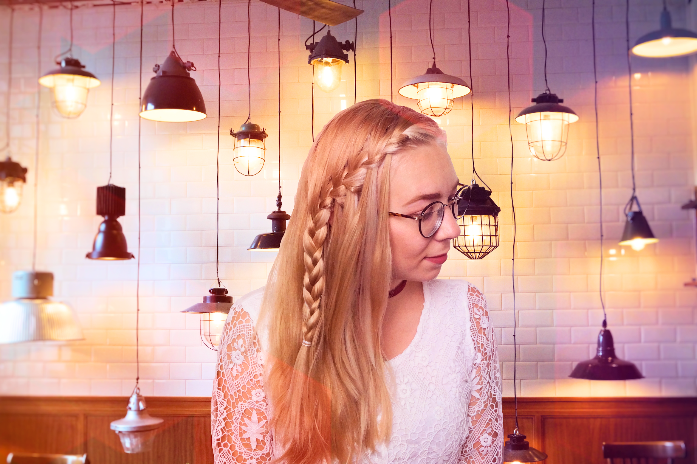How to do a Waterfall Braid