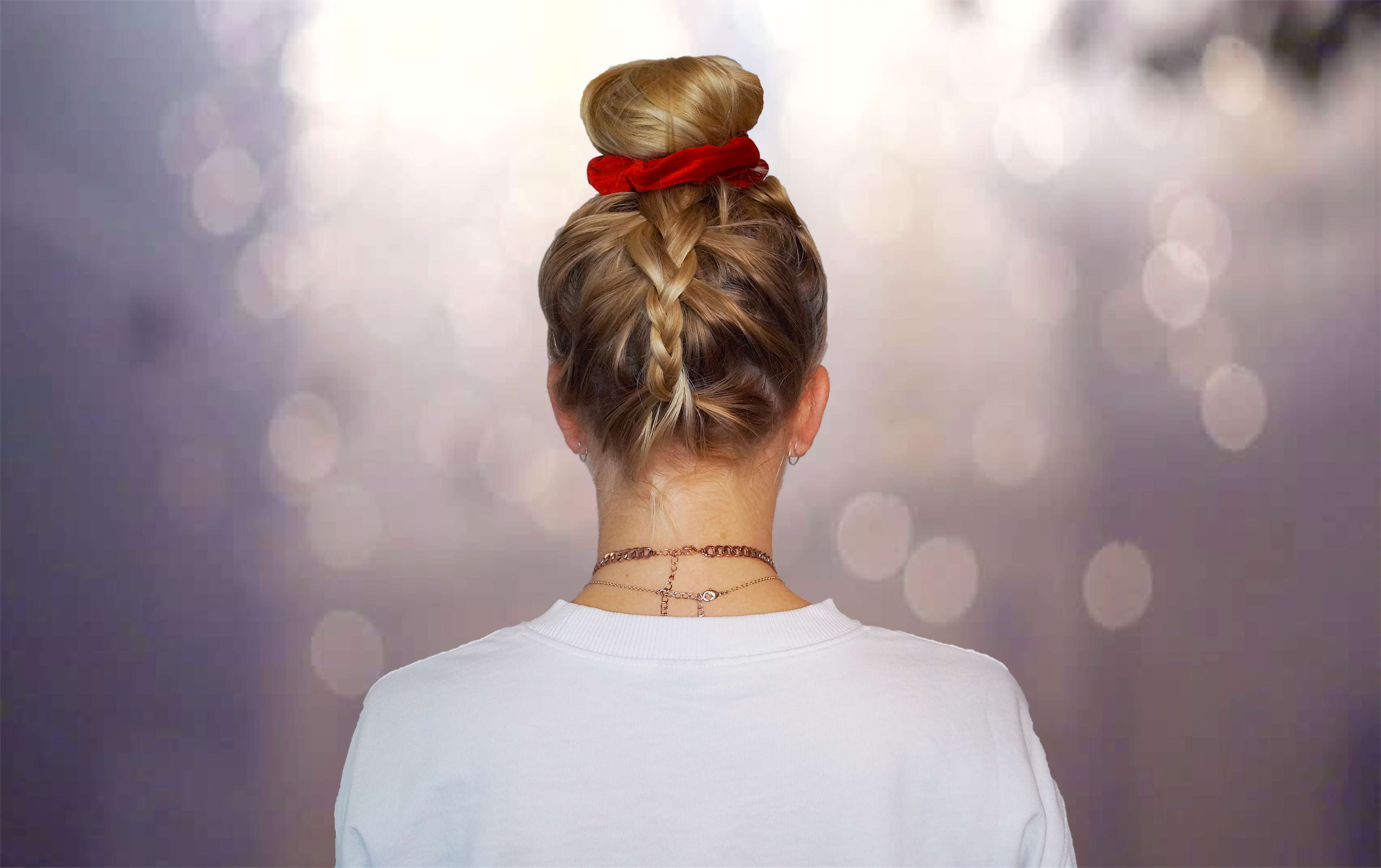 How to do a Upside Down Braid