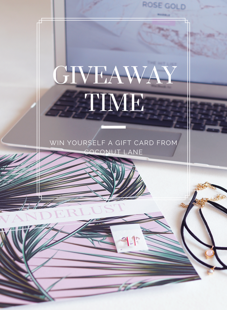 Giveaway with Coconut Lane