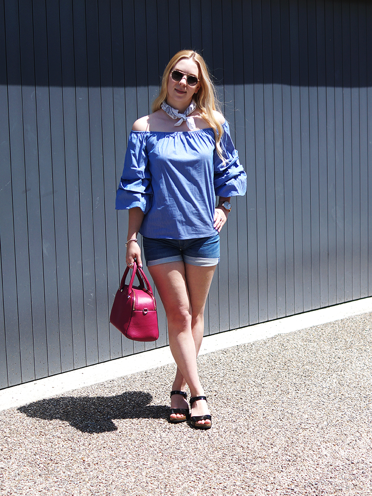 The perfect Bardot Top for those summer days