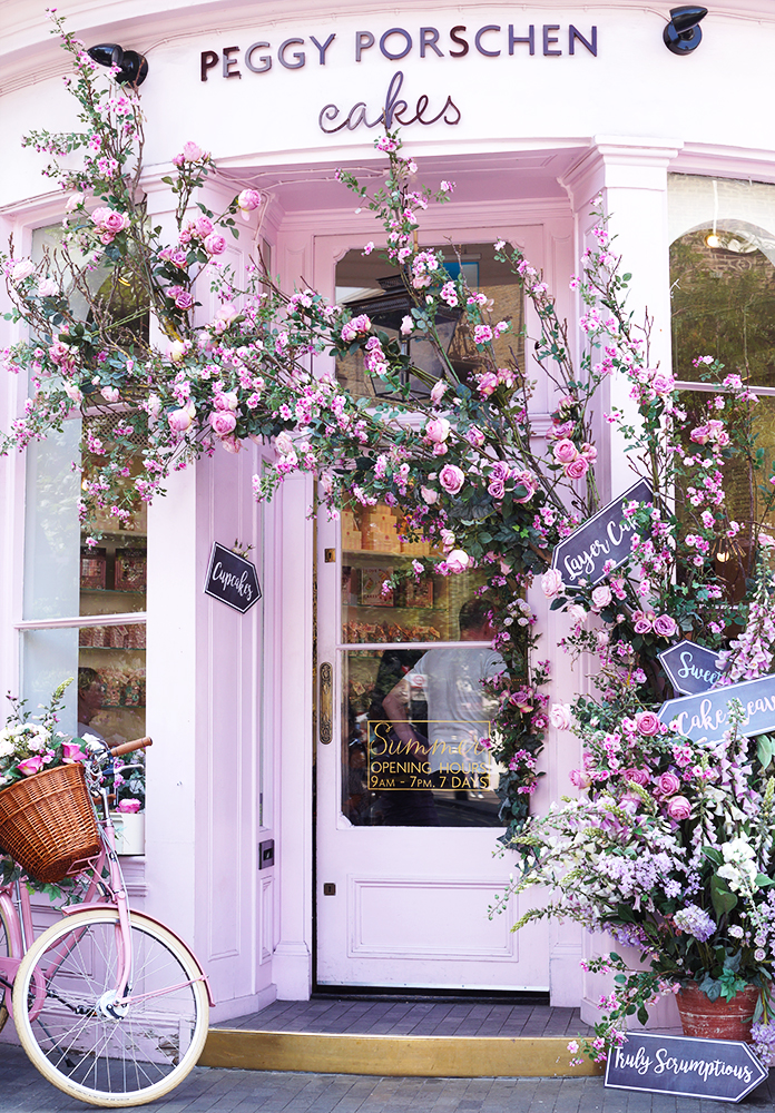 Peggy Porschen - the most instagrammable cafe in London