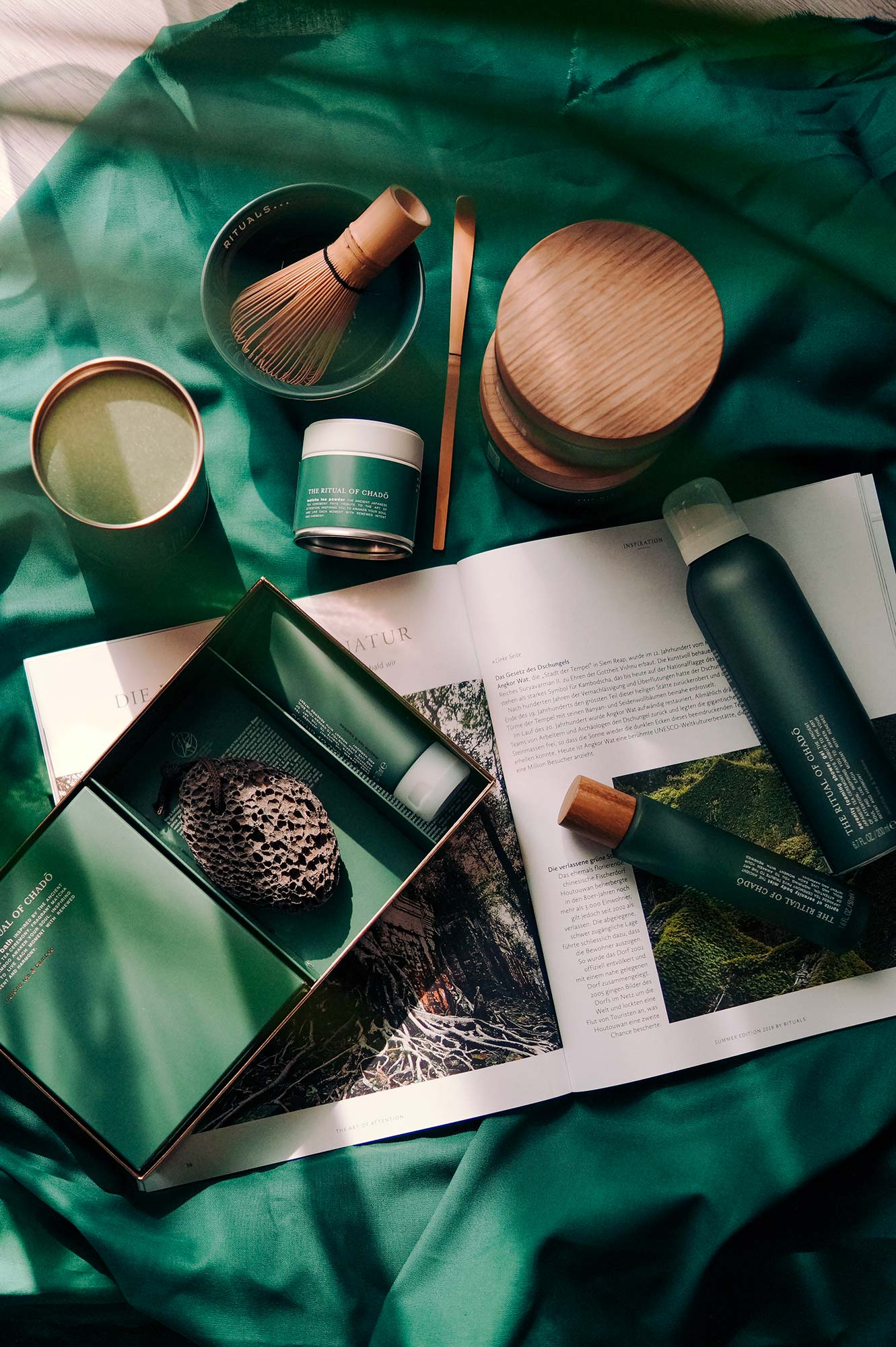 The Ritual of Chado – Rituals limited summer range